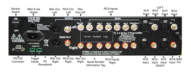 vtl tl55 back panel